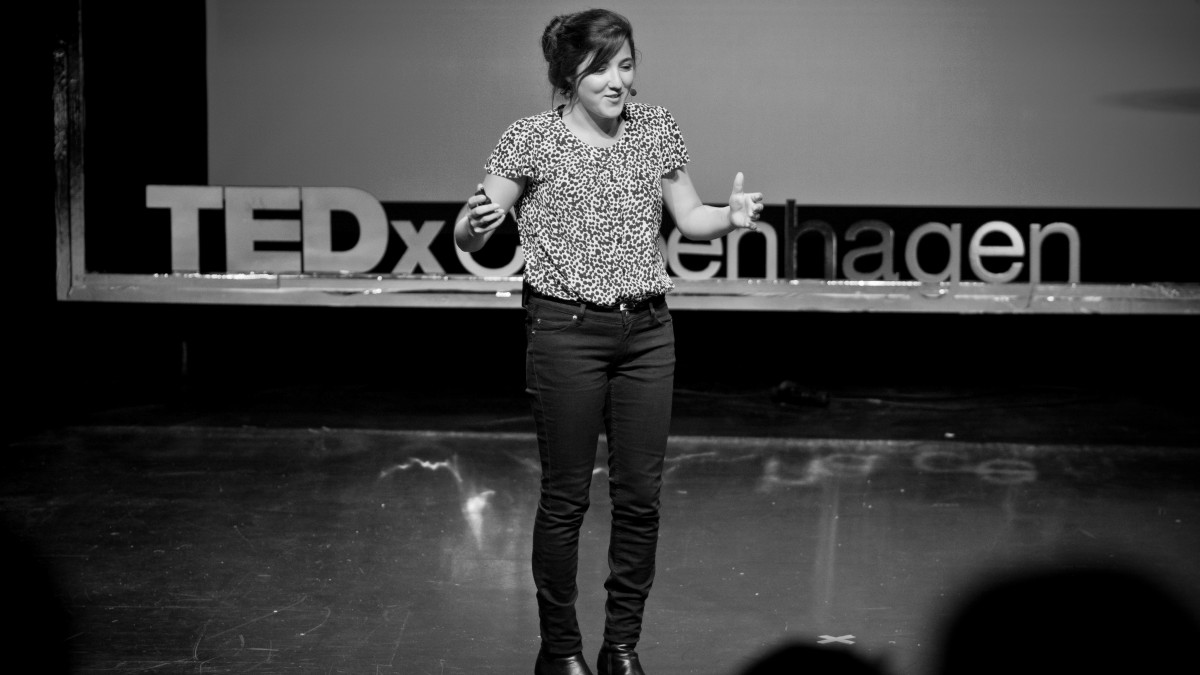 Failure is experience and experience is learning: Sara Naseri at TEDxCopenhagen