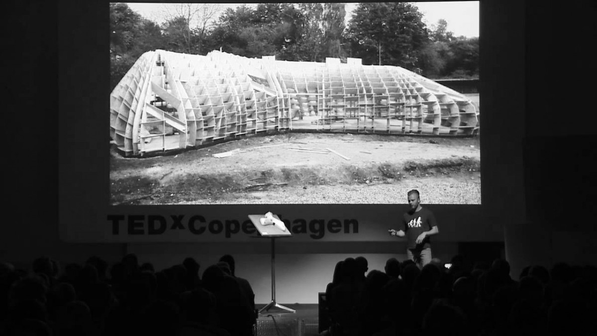 How to Digitally Fabricate a House: Morten Bulow at TEDxCopenhagenSalon